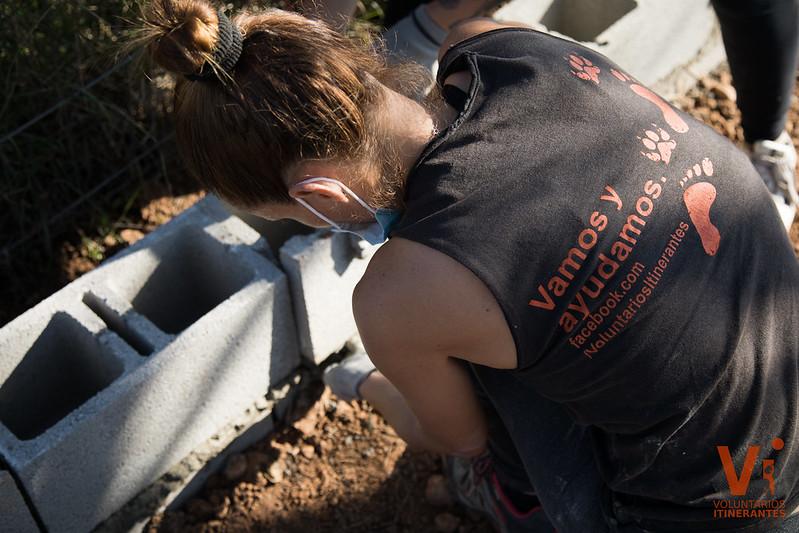 Segundas Oportunidades Construcción Voluntarios Itinerantes
